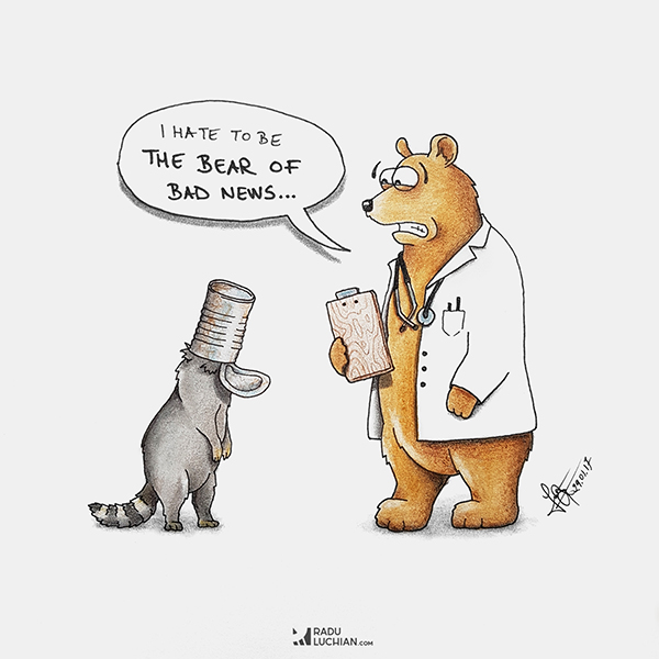 Bear of bad news