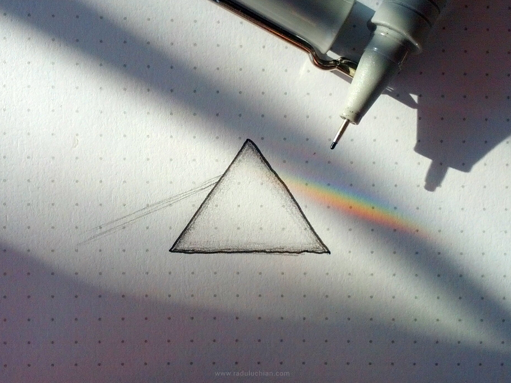 Dark side of my notebook