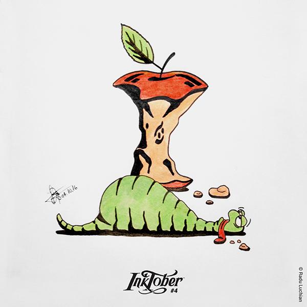 InkTober #4: Hungry