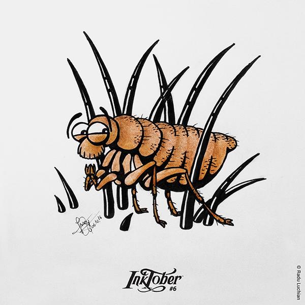 InkTober #6: Hidden