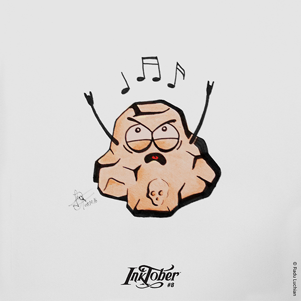 InkTober #8: Rock