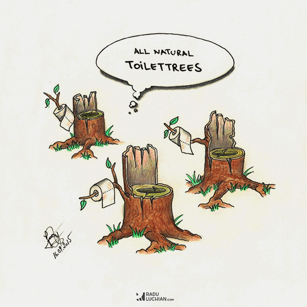 Toilettrees